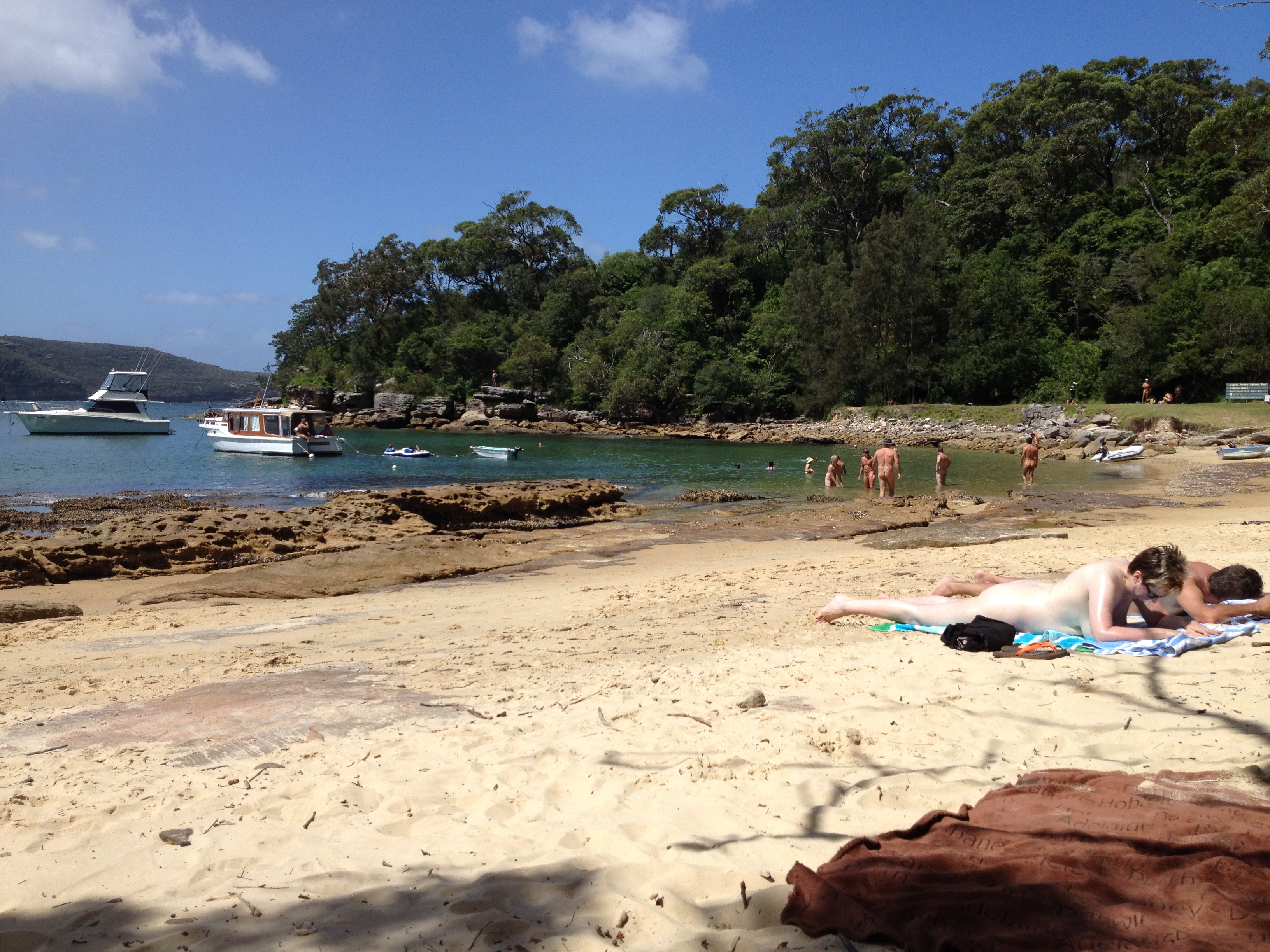Middle head beach